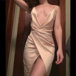 NWT Meshki Slip Dress